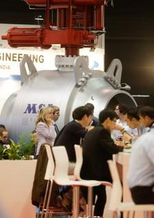 Foto: Halle 3 VALVE WORLD EXPO 2014